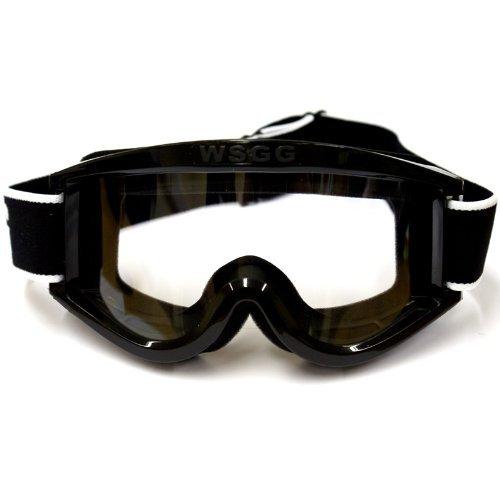 Dixon WSGG - Motorrad-Brille - Schutzbrille - Enduro/Motocross - Schwarz