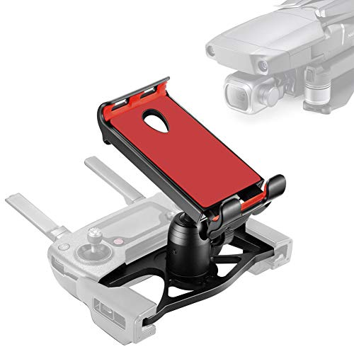 Techfection Tablet Halterung Faltbare Fernbedienung Handy Ständer Aluminium-Legierung Halter Extender mit Lanyard 4-12 Zoll für DJI Mavic Air Mavic Spark -