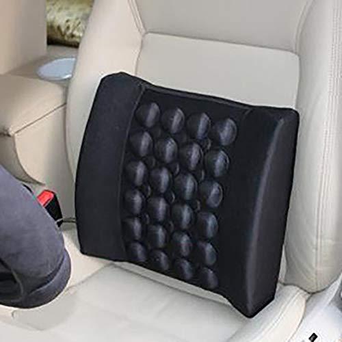 Elektrische Vibration Auto Massagetaillenkissen Pain Relief-Auto-Sitzrückseiten-Rückenstützkissen Taille Pad Taille Pad