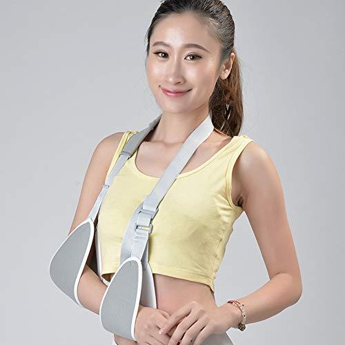 Medical Arm Sling, Verstellbarer Sling, stabilisiert und stabilisiert den Unterarm, für einen gebrochenen Arm und eine Cast-Unterstützung. Größen für Erwachsene und Kinder,M (Cast Sling Für Kinder)