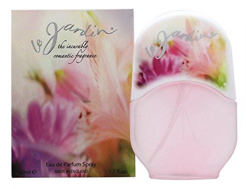 Le jardin Eden Classic Eau de Parfum Spray für Sie, 50ml (Blumen-parfüm-flasche)