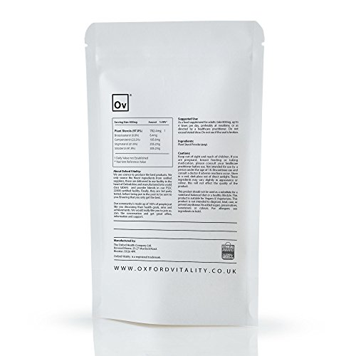 Plant Sterols Supplements | Powder for Cholesterol and General Intestinal Health | Oxford Vitality