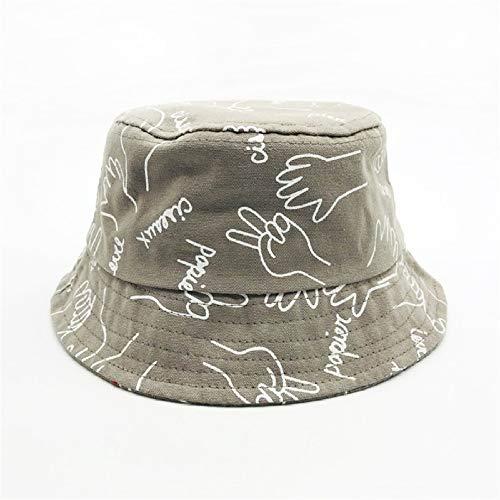 Kostüm Bucket Charlie - Neue Kinder Fischer Hut Sonnenschirm Hut Sonnenhut männer und Frauen Baby einfache Mode Hut Khaki farbcode (48-52 cm)