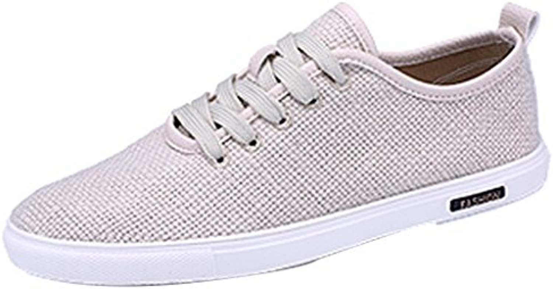 YaNanHome Zapatos para Hombre/Alpargatas Nuevos Zapatos de Lona de los Hombres Zapatos Ocasionales de Corea Zapatos  -