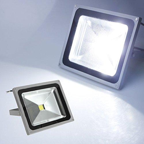 50w Flut-lampe (Bazaar 50W 4000LM Pure White LED Flut-Wäsche-Licht-Lampen-wasserdichte 85-265V)