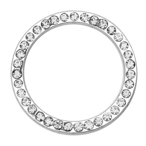 loveven-rhinestone-car-engine-start-stop-taste-button-crystal-ring-sticker-decorativesliver