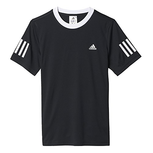 adidas Jungen B Club T-Shirt, Black/White, 128