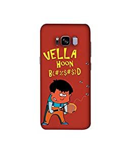 Kaira High Quality Printed Designer Soft Silicone Back Case Cover For Samsung Galaxy S8 (2017)(Vella)