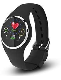 Eboxer IP68 Impermeable Reloj Inteligente Pulsera de Vigilancia de Frecuencia Cardíaca, Vigilancia del Sueño Pulsera