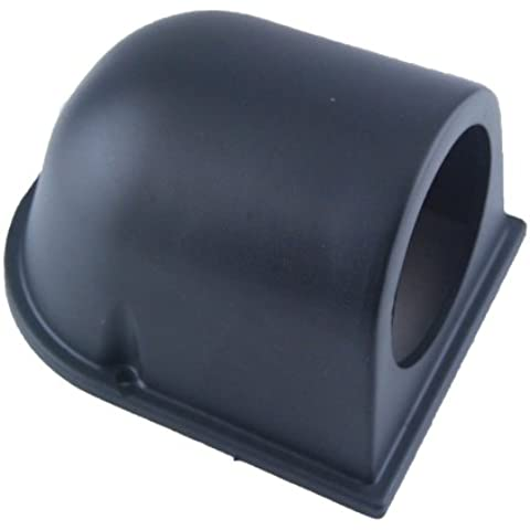 Tacho universal de alta calidad de un solo orificio Monte Pod Copa Holder Plastic Negro ABS para 2