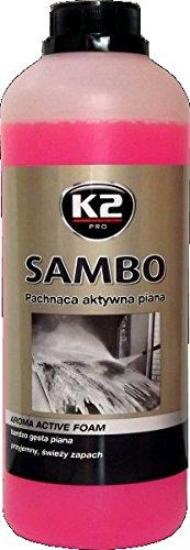 K2Mousse active, Shampooing pour voiture Lavage Nettoyage Professionnel Restauration, de 1kg