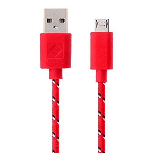 LAAT Cable de Datos USB Cable telefónico Cable de Carga Trenzado Cabl