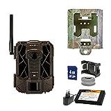 SpyPoint Wild-/Überwachungskamera LINK-EVO-EU inklusive Lithium-Akku SD-Karte und Metallschutzgehäuse Outdoor