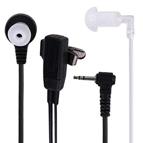 Noradtjcca 1 Pin Covert Acoustic Tube Ohrhörer Headset für Motorola Talkabout 2 Funksprechgerät Walkie Talkie GP88 GP300 GP308 -