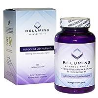 Relumins Advance White 1650MG 15X Glutathione Complex Skin Whitening Pills 90 capsules
