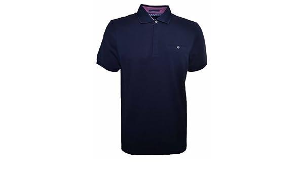 6eda9c54d230e1 Ted Baker Witnay Mens Navy Polo Shirt 5  Amazon.co.uk  Clothing