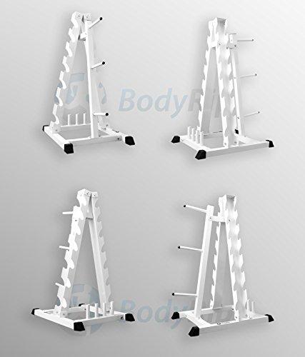 BodyRip Hantel Hex Gewicht Teller Barbell stehen Gym Storage Rack Baum Halter