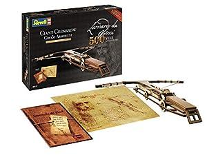 Revell-Giant Crossbow (500 Years Leonardo da Vinci), Escala 1:100 Modelo de Kit de Madera, Multicolor, (00517)