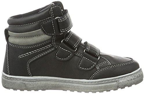 Indigo Jungen Sneaker Low-Top Schwarz (000 BLACK)