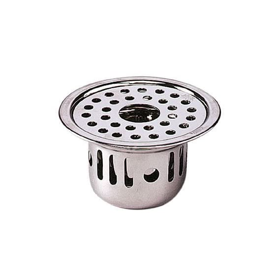 SBD Stainless Steel Anti-Cockroach with Hole Jali (Chrome Finished, Grey)