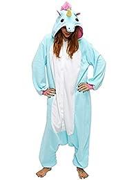 Pijama Kigurumi de disfraz de unicornio Cosplay, de Chicone, para adultos y niños, unisex