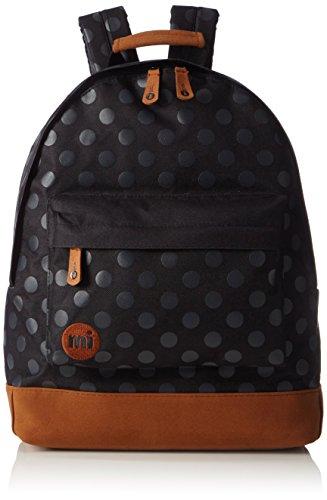 Mi-Pac Backpack - Bandolera, color negro (lunares grises)