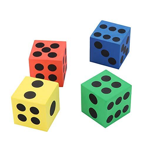 inkinder Spielzeug Eva Schaum WüRfel Sechs Seitige Spot WüRfel Kind Spiel Soft Learn Play Blocks Spielzeug Bildung Spielzeug 3 Jahre ()