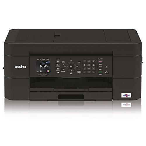 ltifunktionsdrucker Inkjet A Farben A4mit Verbindung für Mobile Geräte und Wireless, Netzteil Schalter und Display LCD-4.5cm 6000x 1200DPI, Schwarz ()