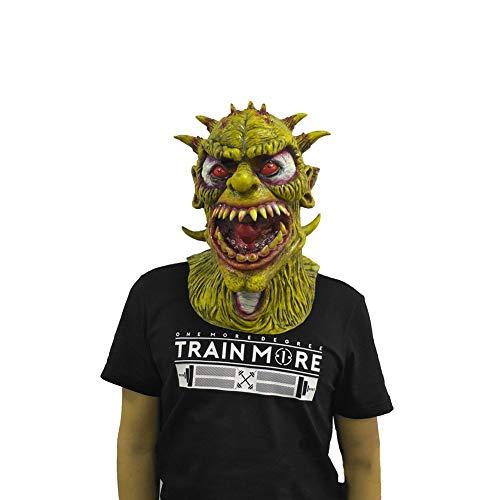 XIAO RUI Monster Maske Halloween Latex Teufel Kopfbedeckung Maske Prom Party Dress Up Scary lustige Rollenspiele Prop Maske, Erwachsene,B