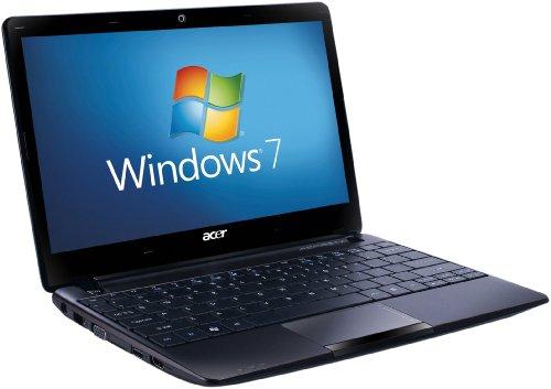 Acer Aspire One 722 11.6 inch Netbook - Black (AMD Dual-Core C-60 1GHZ, RAM 2GB, HDD 500GB, LAN, WLAN, Webcam, Windows 7 Home Premium 64 Bit)