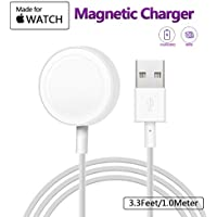 MASOMRUN Apple Watch Magnetisches Ladekabel für 38 mm und 42 mm Apple Watch - 1.0Feet (0.3 Meter)