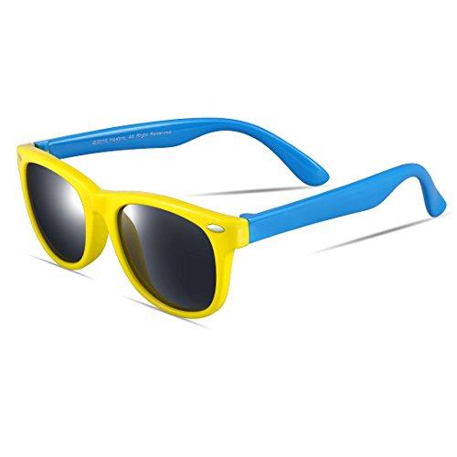 ATTCL Kids NEW TR90 Wayfarer Polarized Children Sunglasses Boys Girls