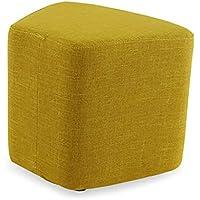 Preisvergleich für Modernes waschbares Gewebe Sofa Hocker Mode Kreative Wohnzimmer Fußhocker Hause ändern Schuhe Hocker Nordic Einfache Couchtisch Hocker Niedrigen Stuhl Freizeit Stoff Hocker Blütenblatt Form