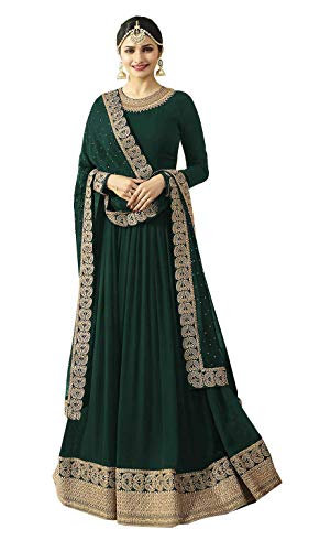 MR CROZY New Arrival Green Suits for Women for Anarkali Suit/Salwar Suit
