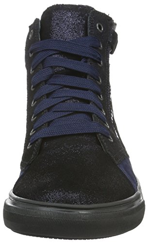Richter Kinderschuhe Fedora, Baskets Basses Fille Bleu - Blau (atlantic 7200)