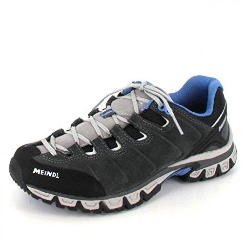 Light Navy Schuhe (Meindl Vegas Light Wanderschuh Sportschuhe Turnschuhe Navy/Grey, Marineblau/Grau, 41)