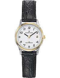 9b145cca3330 Amazon.es  Piel - Relojes de pulsera   Mujer  Relojes