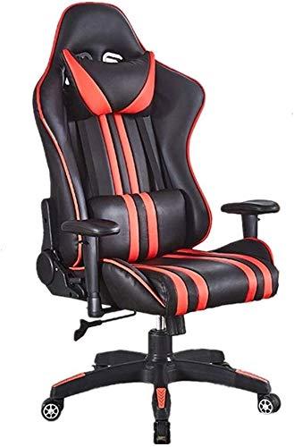 Sillas Gaming Volver Apoyo for la Cabeza Alta Gaming Silla de Altura Ajustable for sillas de Respaldo Alto Ordenador PC...