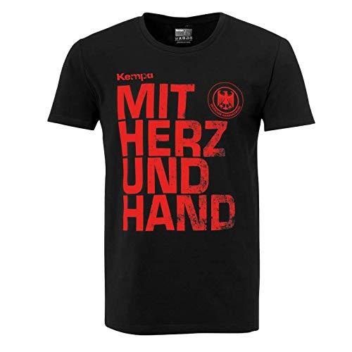 Kempa Uhlsport T-Shirt MIT Herz & Hand - XL