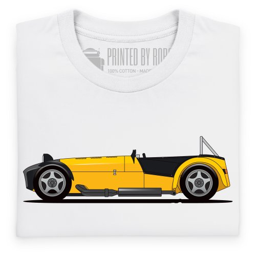 General Tee 7 Sports Car T-Shirt, Herren Wei