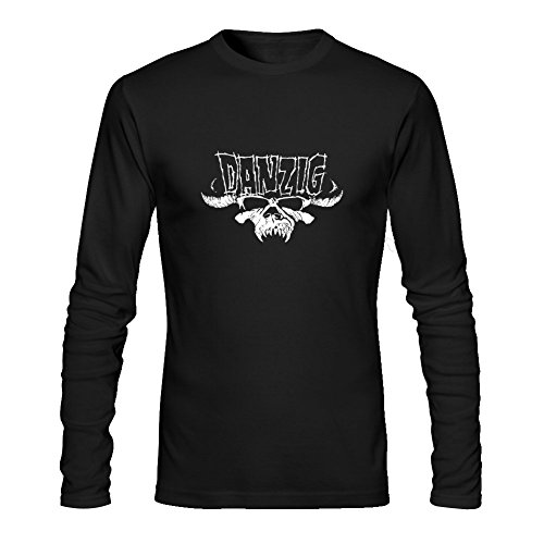 Glorioso ritorno Danzig maglietta a maniche lunghe da uomo Black XXL