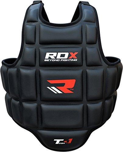 RDX CGM-T1B - PROTECCION DE CUERPO PARA HOMBRE  COLOR NEGRO  TALLA L / XL