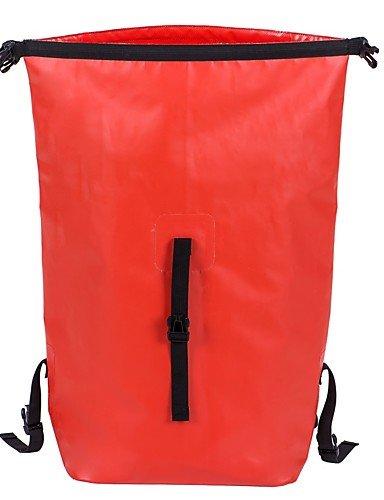 HWB/ 30L L Travel Duffel / Rucksack / Tourenrucksäcke/Rucksack / Radfahren Rucksack / Wasserdichte Dry BagCamping & Wandern / Angeln / Red