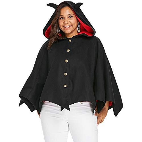 Schal Kragen Open Cardigan (Legere Kleidung Frauen Open Front Cardigan Elegante Cape Wrap Schal Wrap Wollmischung Sleeveless Halloween Plus Größe Button Up Mit Kapuze Batwing Mantel Frauen Angestellte)