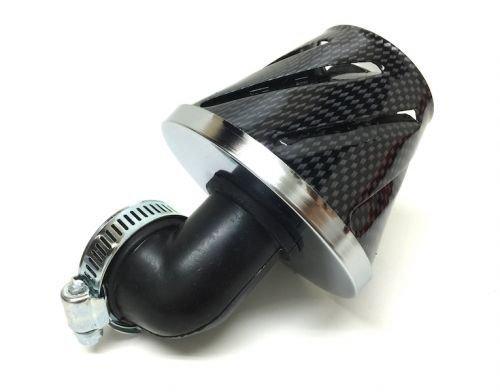Tuning Sport Luftfilter 28mm - 35mm 90 Grad Carbon Zündapp Hercules Kreidler