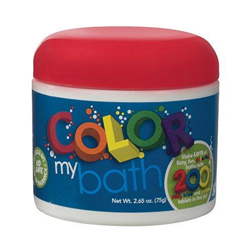 Color My Bath Eco Friendly Color Changing Bath Tablets,  Pezzi