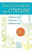Dictionnaire des citations