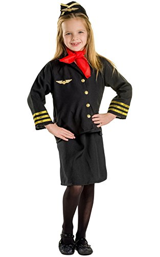 dress-up-america-366-t-costume-da-hostess-bambini-3-4-anni-multicolore