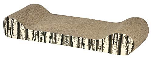 Kerbl 81668 Katzenkratzbrett Drift aus Pappe