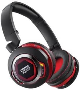 Creative Sound Blaster EVO ZX Wireless - Casque Micro Gaming - Carte Son Intégrée - ANC - Multimédia Bluetooth/NFC - Noir